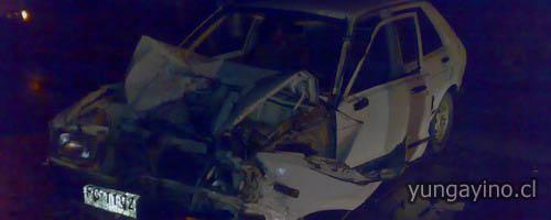 Accidente Vehicular en Cholguán