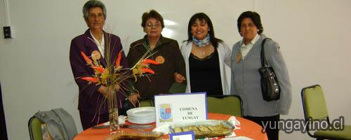 yungayino.cl - Adultos mayores de Yungay en Muestra de Platos Típicos en Chillán