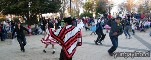 Actividades Bicentenario en Yungay
