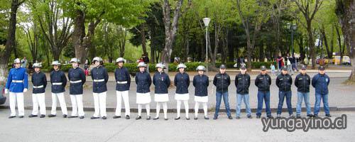 Última Ceremonia de Aniversario de la Escuela de Cadetes Bomberos de Yungay