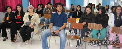 Reconocimiento a Deportistas Destacados del Liceo de Yungay