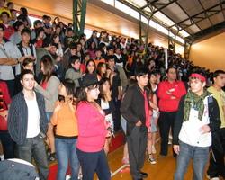Celebración Día del Alumno Liceo en Yungay
