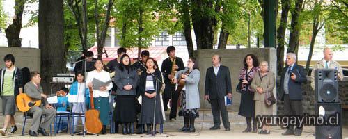 Día de Iglesias Evangélicas en Yungay