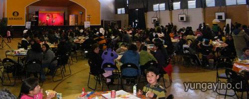 Paneles Arauco Planta Trupán Cholguán, Celebro Día del Niño