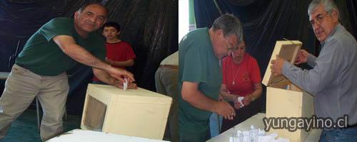 Bomberos de Yungay Realizo Elecciones del Directorio General