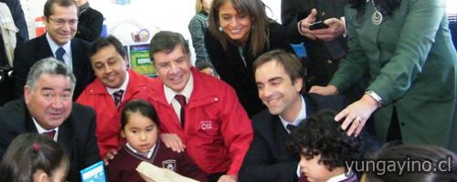Ministro Lavín Inaugura Escuela Modular Más Grande del País en Yungay
