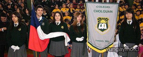 Aniversario Nº 20 del Colegio Cholguán