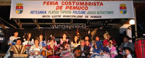 Segunda Feria Costumbrista en Pemuco