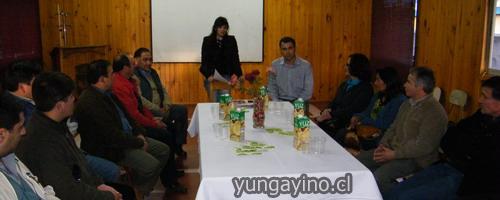 Entrega de Montos Fodeco 2010 en Yungay