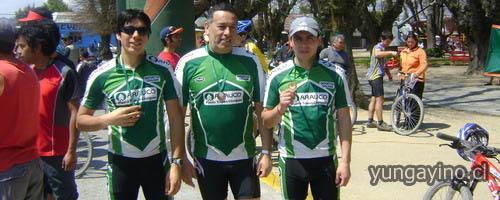 Participación Grupo de Montanbike de Yungay en Hualqui