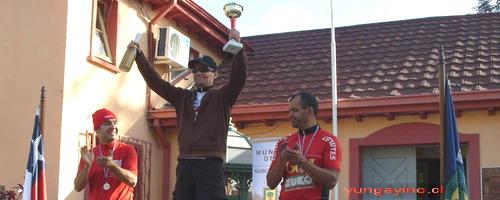 Mauricio Madrid Representó a Yungay en Regional de Montanbike en Quillón