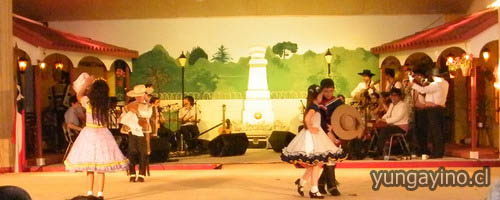 Muestra Nacional de Cueca Escolar en Yungay