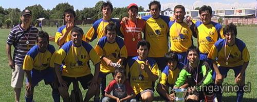 Premiación Campeonato Oficial de Fútbol 2009 Asociación Cordillera