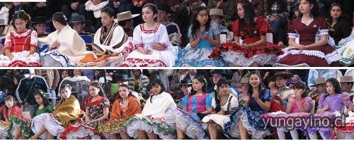 Provincial de Cueca Infantil y Jóvenes realizado en Yungay