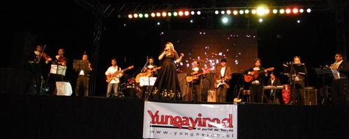 YUNGAYINO.CL - María José Quintanilla en Semana Yungayina 2011