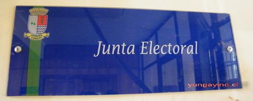 Servicio Electoral de Yungay