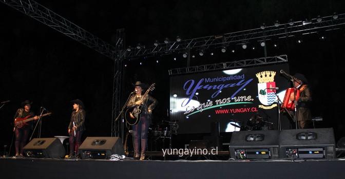 En Campanario se Dio Inicio a los Show Artísticos de la Semana Yungayina 2015