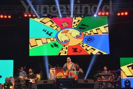 La Sociedad y Joe Vasconcellos formaron parte de la Semana Yungayina 2015