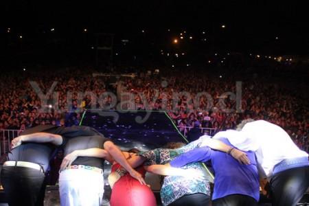 Gran Capitals, Los Jaivas y Los Tres se presentaron en Yungay