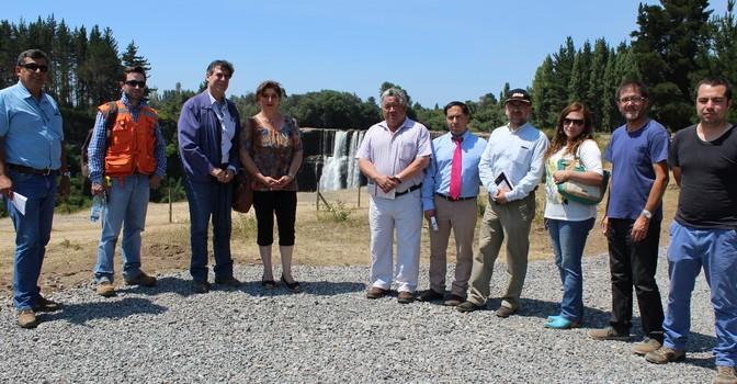 Inauguran Parque Mirador Salto del Itata en Yungay
