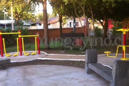 Inauguran Nueva Plaza Activa en Hospital de Yungay