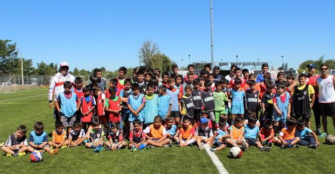 """Niños Yungayinos Participaron de Clínica de """"Fútbol River Cup 2015"""""""
