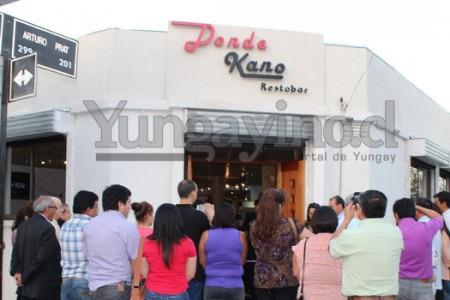 """Inauguran Restobar """"Donde Kano"""" en Yungay"""