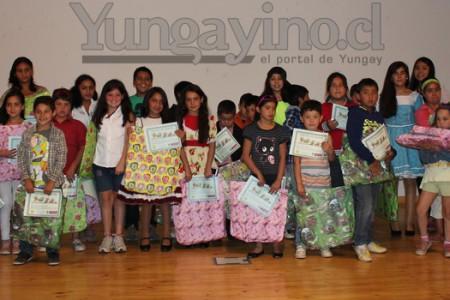 Ceremonia de Cierre de Escuela de Verano se Realizó en Yungay