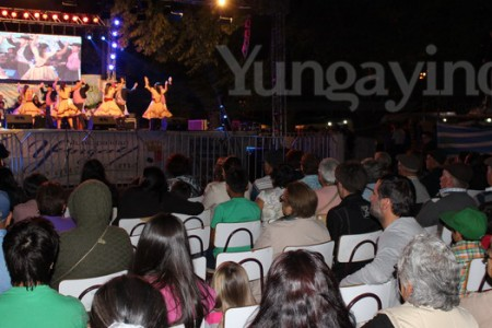 Quinta Noche de Show Artístico en XIII Feria Costumbrista de Yungay