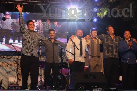 Lucho Castillo Junto a Los Tricolores se Presentaron en XIII Feria Costumbrista de Yungay