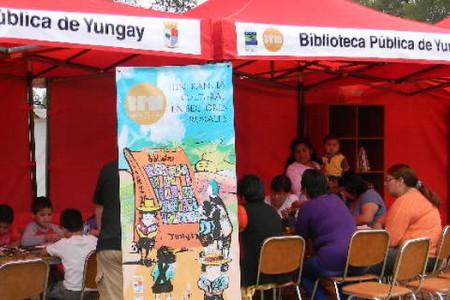 Itinerancia Cultural en Sectores Rurales Realizó Biblioteca de Yungay