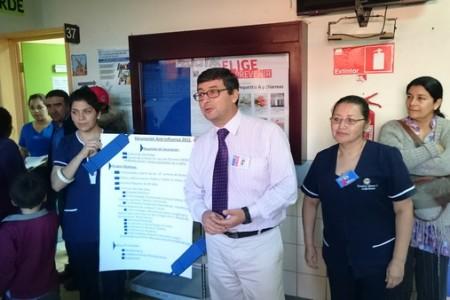 Hospital de Yungay Inició Campaña de Vacunación Contra la Influenza 2015