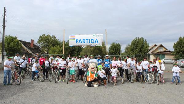 Planta Paneles Arauco Trupán Cholguán Organizó Cicletada Familiar Solidaria