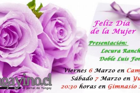 """Municipio Invita a Yungayinas a Celebrar el """"Día Internacional de la Mujer"""""""