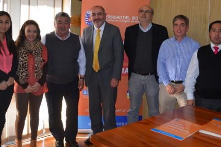 Municipalidad de Yungay Firma Importante Convenio con la Universidad del Bíobío
