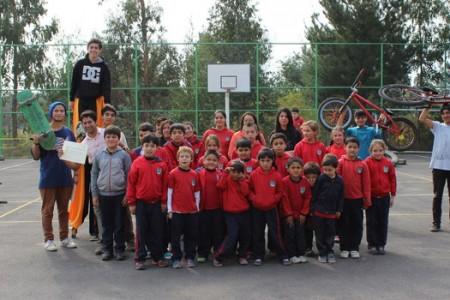 """Escuela Rural San Miguel de Itata Participa Activamente de """"Primera Muestra Deportiva Extrema Yungay 2015″"""