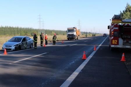 Accidente Vehicular se Produjo esta Mañana en Ruta Cholguán Campanario