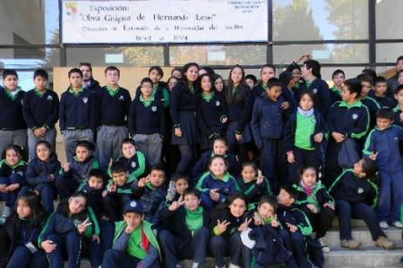 Casi 500  Alumnos de las Escuelas de Yungay Disfrutaron del IV Festival Internacional de Animación Chilemonos
