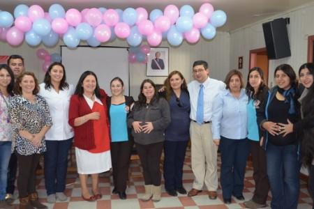 """Futuras Madres del Programa """"Chile Crece Contigo"""" de Yungay y Campanario Celebraron el Día de la Madre"""