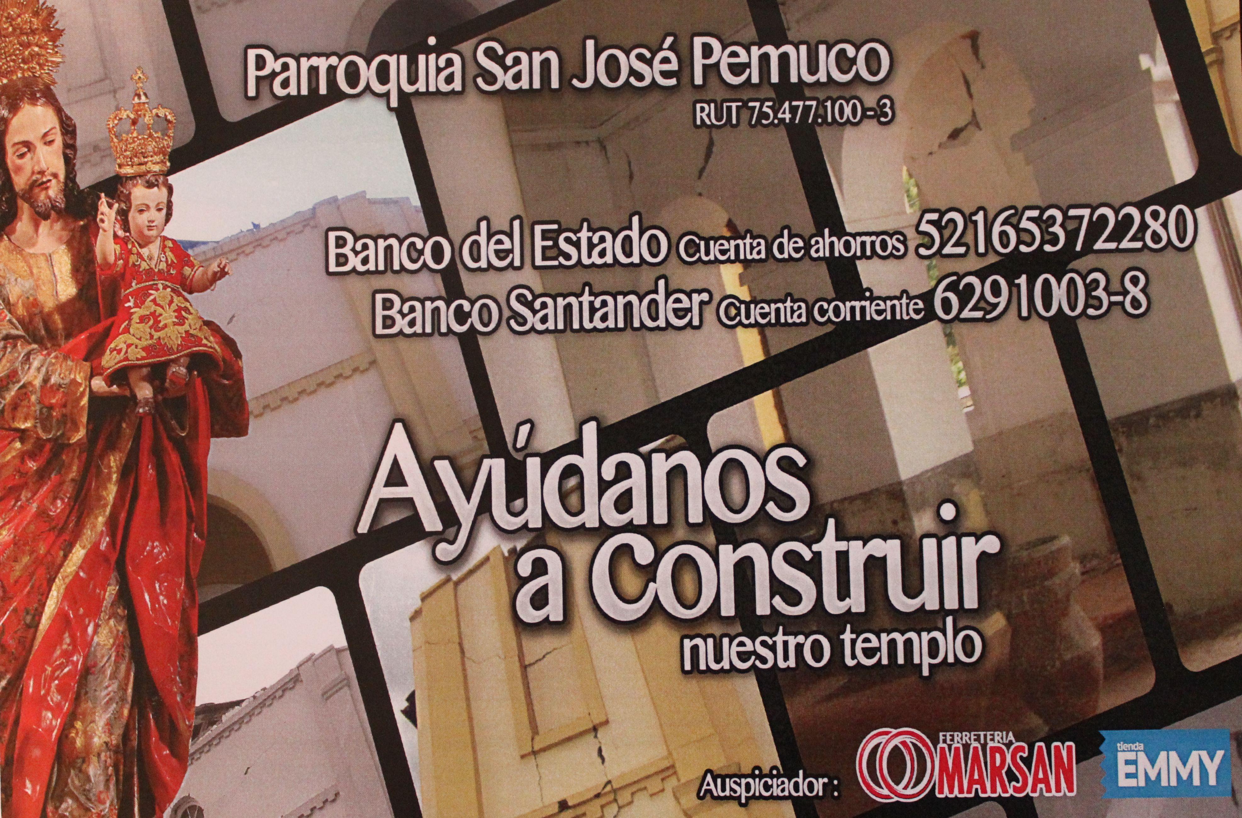Ayuda a Parroquia San José de Pemuco