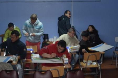 Internos del Centro Detención Preventiva de Yungay Participaron en Concurso de Pintura