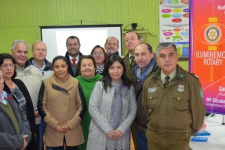 Club Rotary de Yungay Realizó Operativo Social en Campanario y Ranchillo