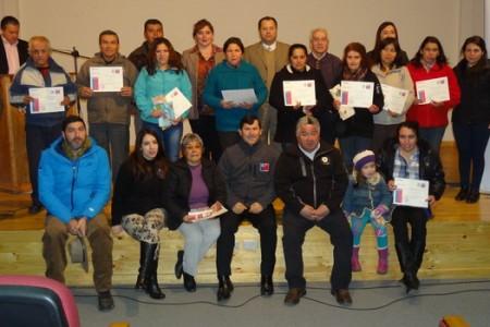 Ceremonia de Cierre Programa Apoyo a Familias para el Autoconsumo 2014 se Realizó en Yungay