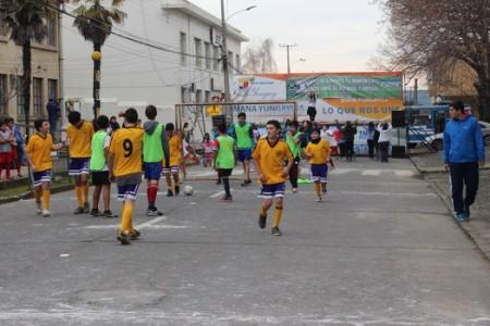Campeonato Mundial de Fútbol Sub -17 de la FIFA 2015, se Promociona en Yungay