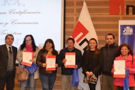 """INACAP Chillán Entrega Certificación a Emprendedores de Yungay que Participaron en Taller de """"Conciencia Turística e Idiomas"""""""
