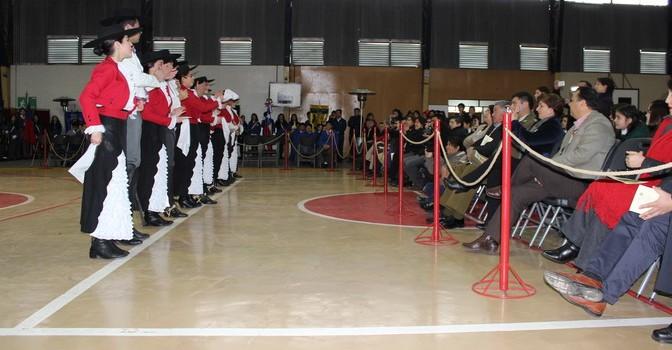 Colegio Cholguán Realiza Acto Comunal Correspondiente a la Conmemoración del Natalicio de Bernardo O'Higgins Riquelme