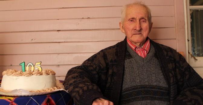 Abuelito Yungayino Nicanor Godoy Vargas Cumplió 105 Años de Vida