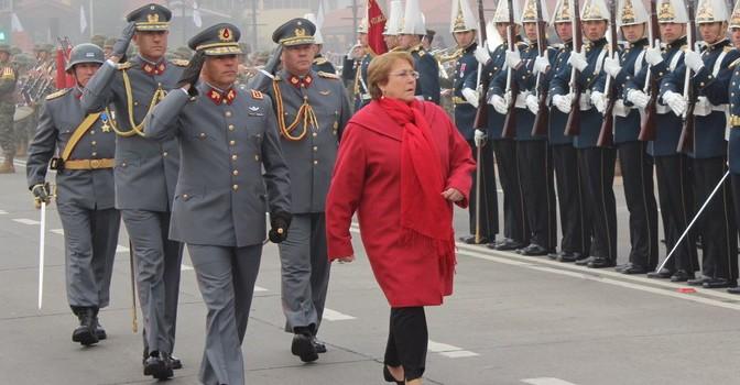 Alcalde y Concejales de Yungay Participaron en Acto de Honor al Natalicio de Bernardo O'Higgins Encabezado por la Presidenta Michelle Bachelet