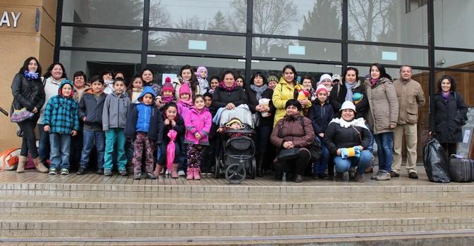 Vecinos de Yungay Realizan Turismo Familiar en Viaje a Concepción