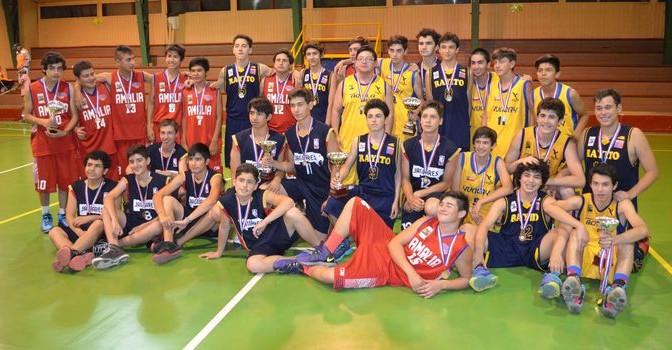 """Final Campeonato Basquetbol Sub-16 Varones """"Encestando Yungay 2016"""""""